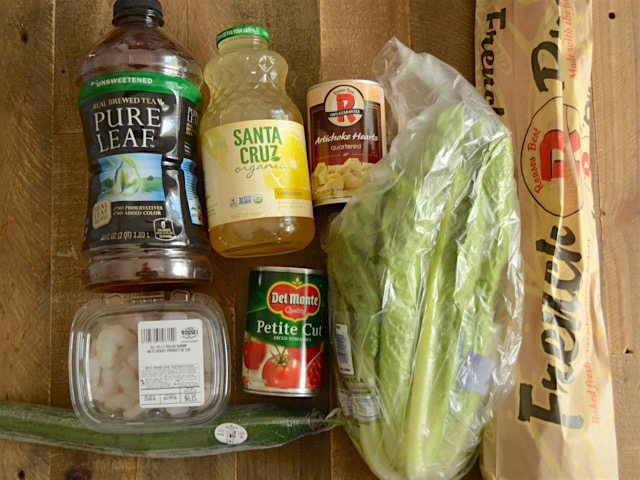 Dinner Party Groceries