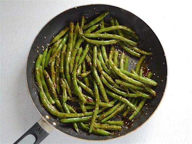Sesame Glazed Green Beans