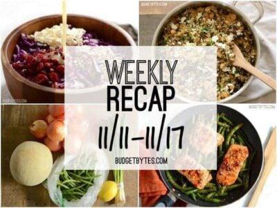 Weekly Recap 11-11