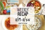 Weekly Recap 11/19-11/25