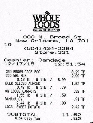 WFM receipt 12-17