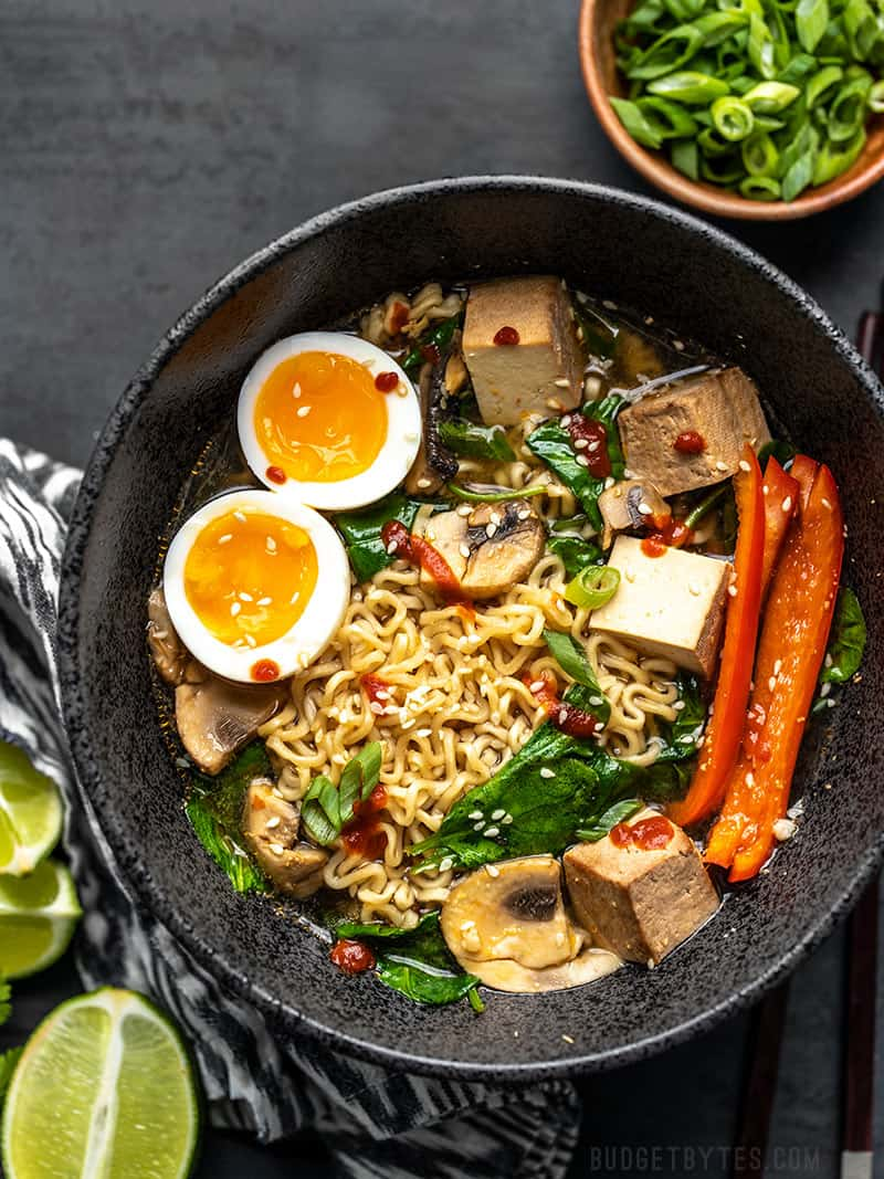 6 Ways to Upgrade Instant Ramen - Make it a Meal! - Budget Bytes