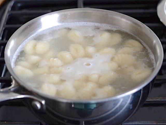 Boil Gnocchi