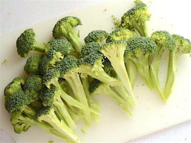 Chopped and Peeled Broccoli Spears