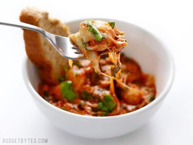 Cheesy Gnocchi Skillet - BudgetBytes.com