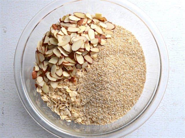 Gingersnap Granola Dry Ingredients