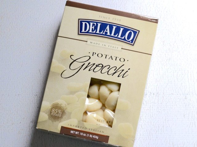 Box of DeLallo Gnocchi