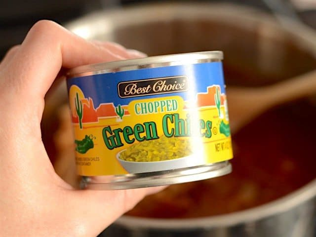 Can of Green Chiles