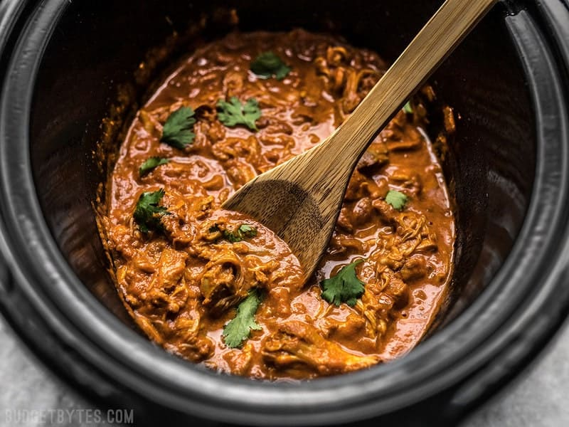 Slow Cooker Chicken Tikka Masala finished