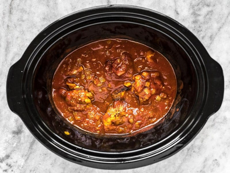 Tomato Sauce in Slow Cooker