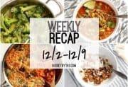 Weekly Recap 12/2 – 12/9