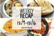 Weekly Recap 12/9-12/16