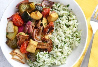 5 Templates for Easy Vegan Dinners 5