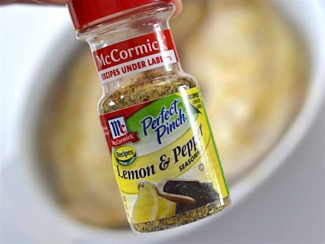 Lemon Pepper Seasoning for Oven Roasted Chicken Legs