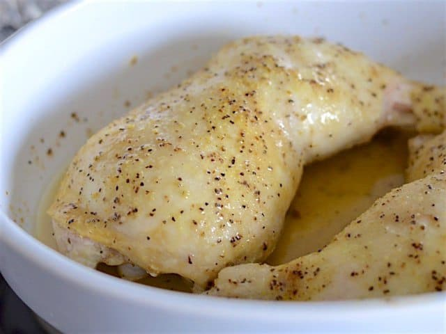 Oven Roasted Chicken Legs