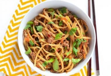 Stir Fry Beef Noodles - BudgetBytes.com
