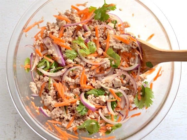 Stir Salad to Combine