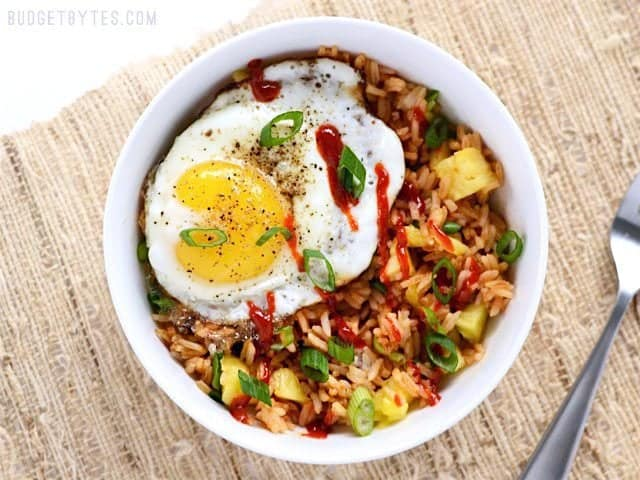 Top with Fried Egg