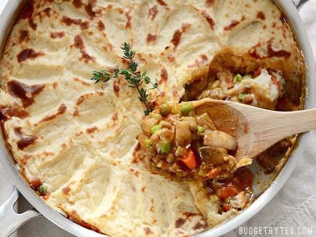 Vegetarian Shepherd's Pie - Budget Bytes