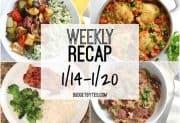 Weekly Recap 1/14-1/20
