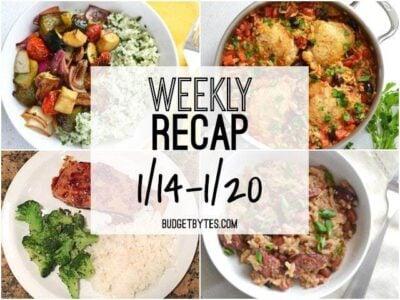 Weekly Recap 1-20