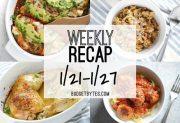 Weekly Recap 1/21-1/27
