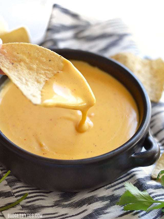 5 Minute Nacho Cheese Sauce