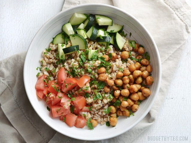 Farro and Vegetables