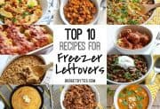 Top 10 Recipes for Freezer Leftovers
