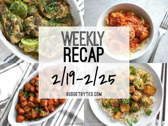 Weekly Recap 1-25