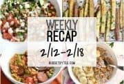 Weekly Recap 2/12-2/18