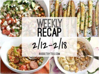 Weekly Recap 2-18