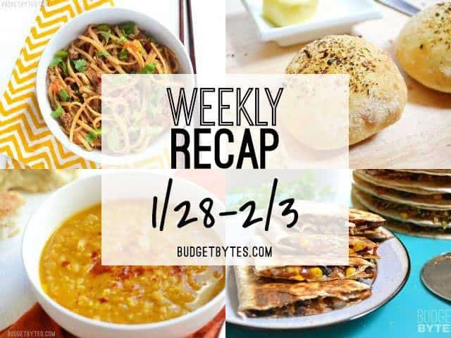 Weekly Recap 1/28-2/3