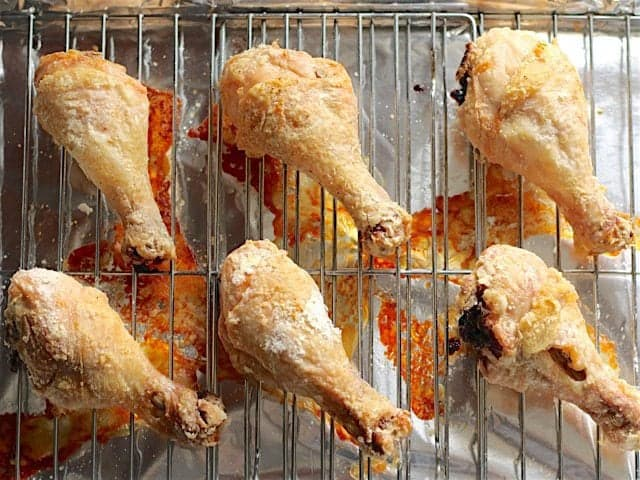 Golden Baked Chicken Drumsticks 1