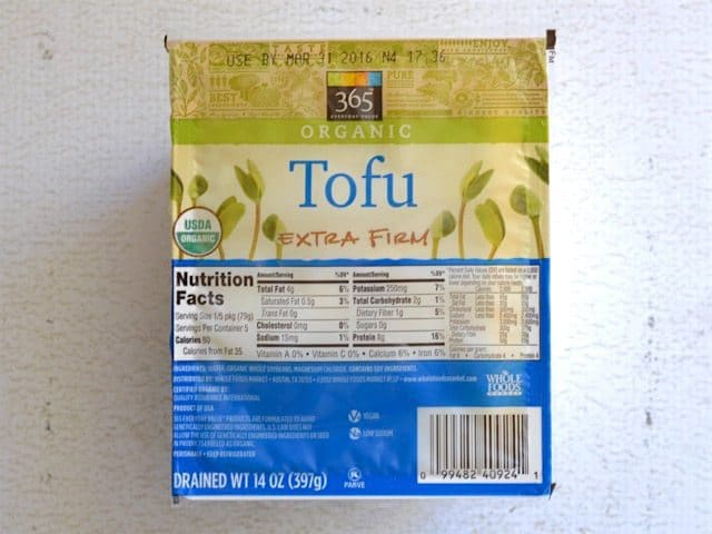 Packaged Tofu