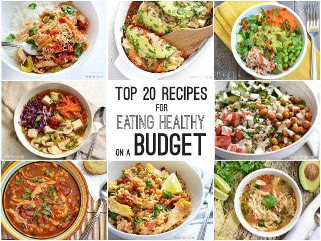 Top 20 Recipes for Eating Healthy on a Budget - BudgetBytes.com