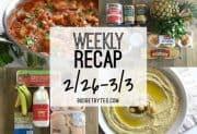Weekly Recap 2/26-3/3