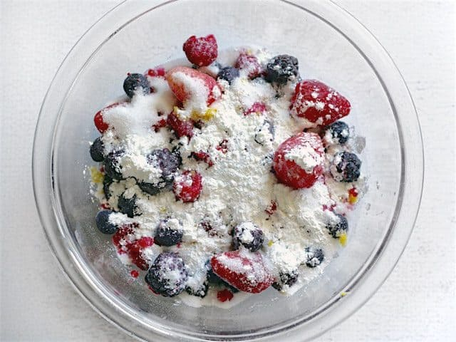 Berries Sugar Cornstarch Zest