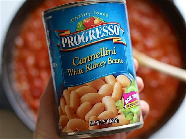 Can of Cannellini Beans