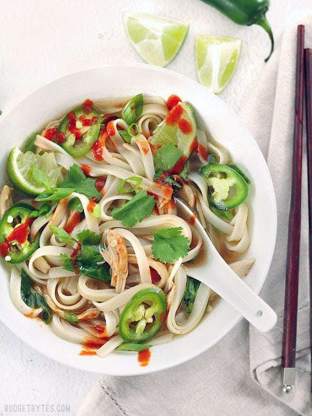 Quickie Faux Phở - Budget Bytes