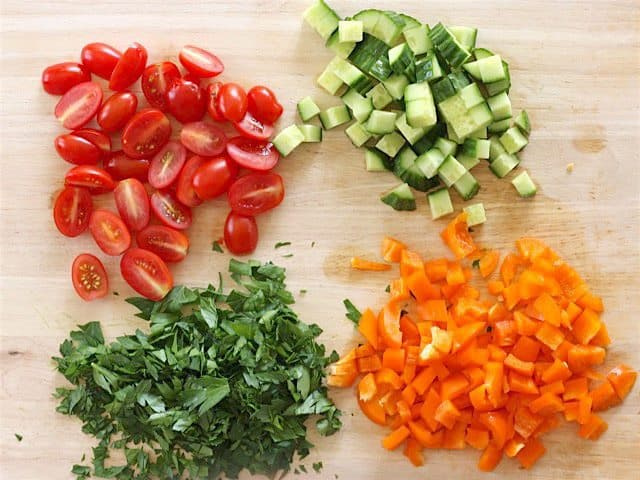 Chop Vegetables