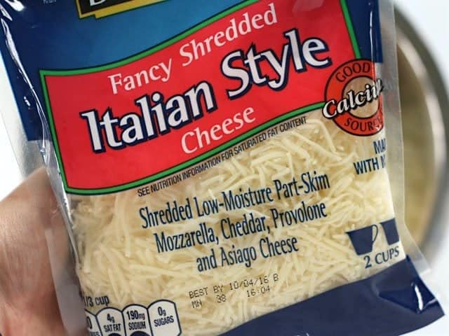 Italian Cheese Blend package