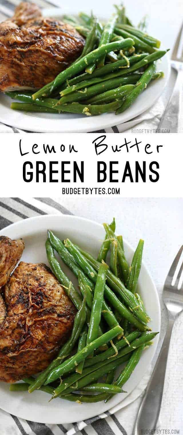 Green Beans with Fresh Lemon pictures