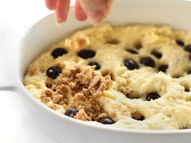 Add Streusel Topping