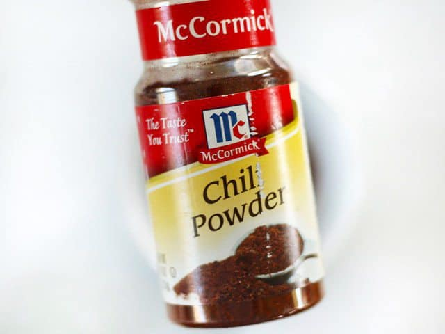 Chili Powder bottle