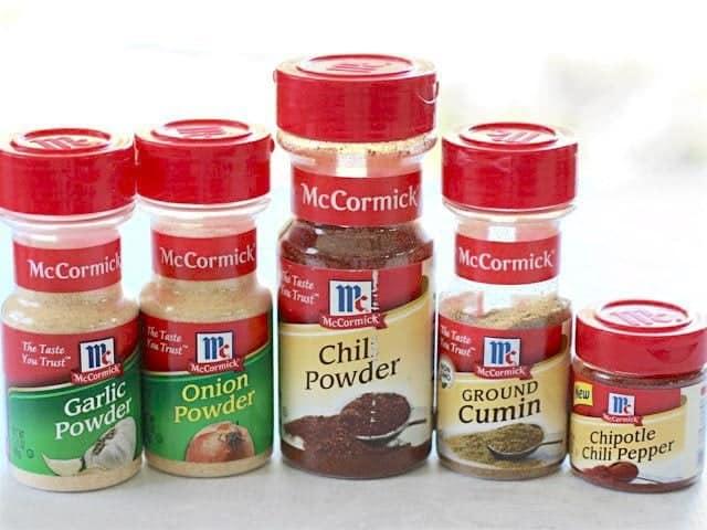 Chipotle Fajita Spices