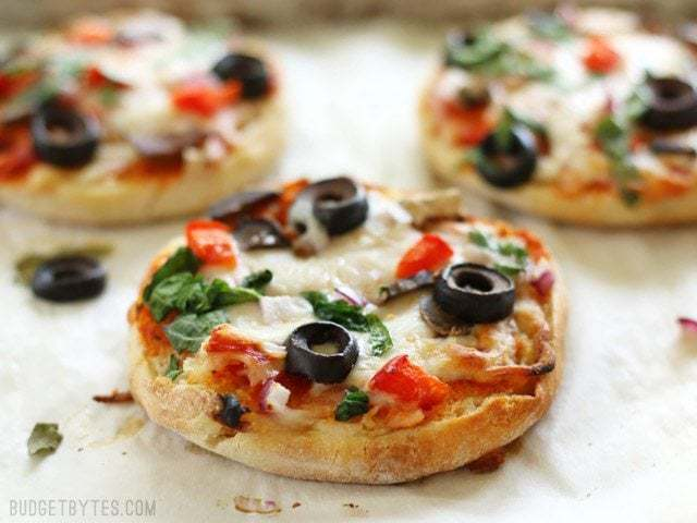 Freezer Ready Mini Pizzas Budget Bytes