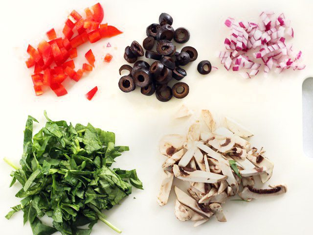 Salad Bar Toppings Chopped