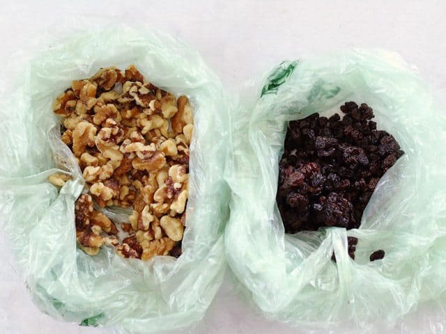 Walnuts and Currants