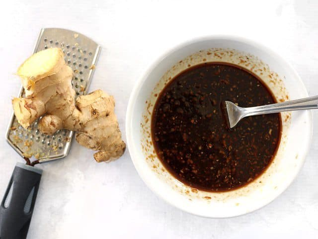 Prepare Simple Ginger Soy Marinade